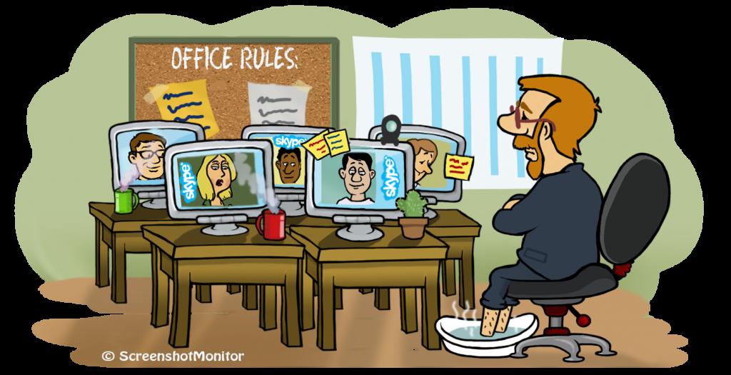 remote team productivity