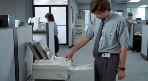 Printing employee